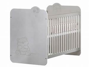 Lit Bébé Conforama : lit b b 60x120 cm urso coloris blanc vente de lit b b conforama ~ Teatrodelosmanantiales.com Idées de Décoration