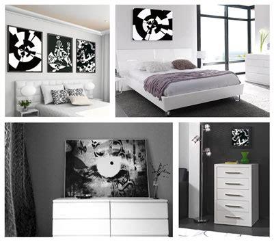 d馗oration chambre noir et blanc décoration chambre adulte noir et blanc