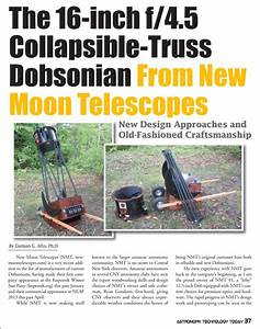 The 16-inch f/4 5 Collapsible-Truss Dobsonian From New