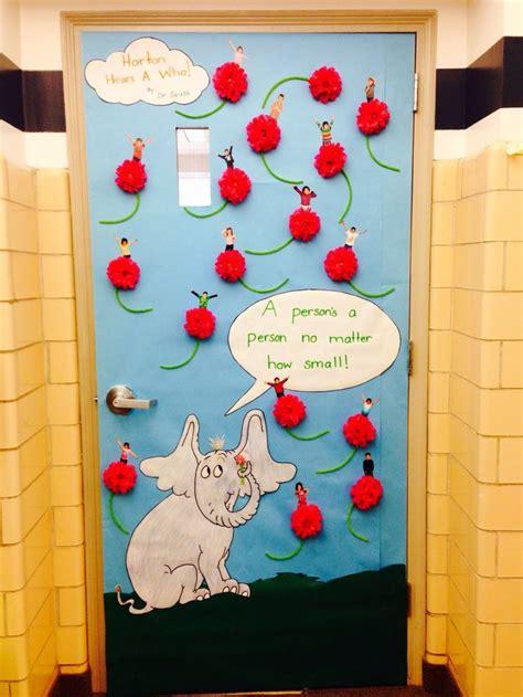 dr seuss classroom door decorating ideas book covers dr