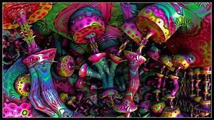 Trippy Mushroom Wallpaper (61+ images)