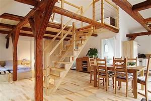 Haus Mit Offener Galerie Raum Und Mbeldesign Inspiration