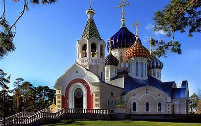 Church Orthodox Russia Wallpapers Russian Religious Background