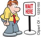 Waiting Clipart