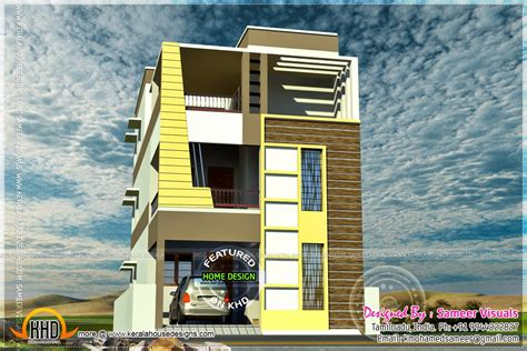 flat roof tamilnadu style house designs kerala home design floor plans
