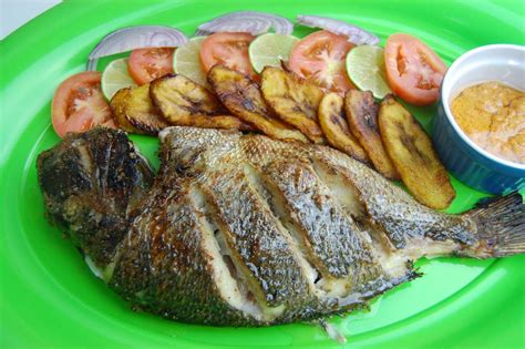 cuisine africaine camerounaise dorade au four et marinade aux épices africaines par