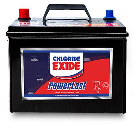PowerLast Motor Car Battery - Chloride Exide Kenya