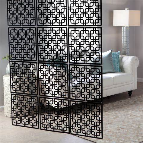 Decorative Partitions - interwoven decorative panel set of 4 16w x 16h in