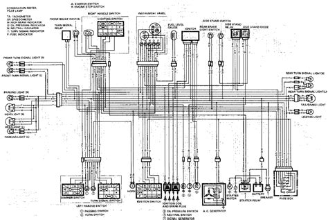 Yamaha V 650 Wiring Diagram Tach by 1989 Gsxr1100 Wiring Diagrams Diagnose And Troubleshoot