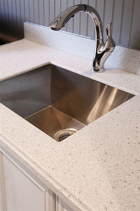 laundry room countertop  silver birch corian