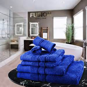 luxury towel bale set 100 egyptian cotton 6pc face hand