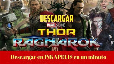 Thor Ragnarok pelicula completa en español latino YouTube