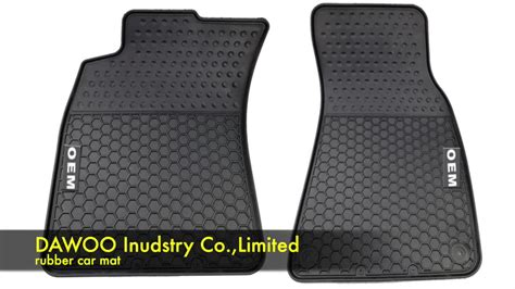 Rubber Car Mats For Floor Mat Mercedes E W211 Carpet