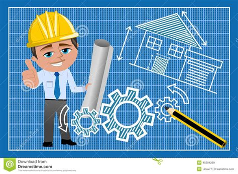 where can i find blueprints for my architect thumb up blueprint stock vector