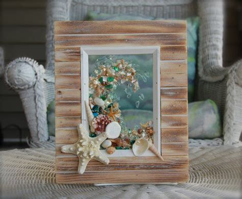 The rustic decorating ideas ahead show you just how elegant this unfettered look can be. Rustic Wall Art for Beach Decor Nautical Wall Hanging for | Rustic wall art, Sea glass art, Sea ...