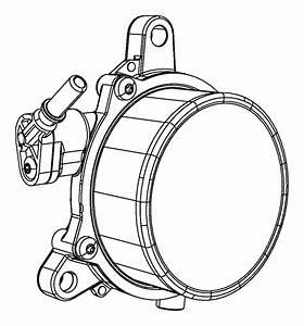 Dodge Dart Connector  Vacuum   2 0l I4 Dohc Engine    2 4l