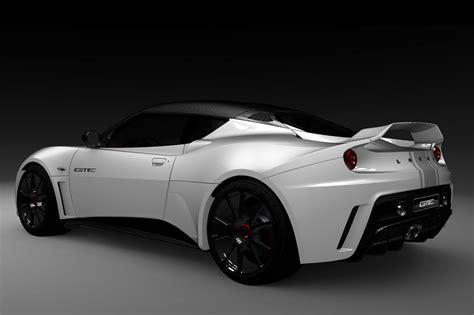 New Lotus Evora Gte Concept And Exige Matte Black Final