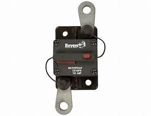 Circuit Breaker 150 Amp Manual Trip Push