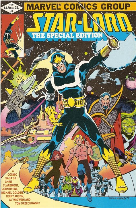 Star-Lord: The Special Edition | Comic book covers, Marvel ...