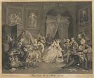 William Hogarth - 6 Works: Marriage À-la-mode,...