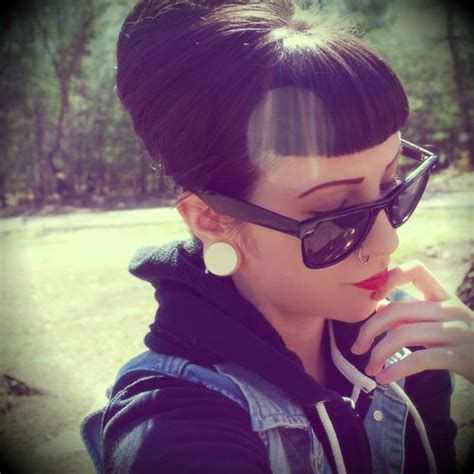 my hair wont style 25 best ideas about rockabilly bangs on 3837