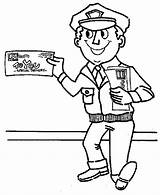 Coloring Helpers Postman Community Mailman Mr Pages Colouring Drawing Smiling Printable Netart Again Bar Looking Case Don sketch template