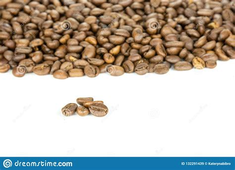 If you're in the market for green coffee beans to roast on your own, sweet maria's is where you want to. Dark Brown Coffee Beans Sweet Arabica Isolated On White Stock Image - Image of bittersweet ...