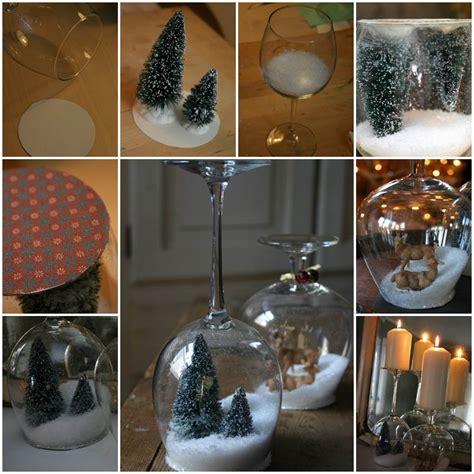 creative ideas diy waterless snow globes  christmas