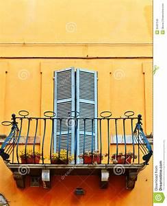 Balcony Stock Photo  Image Of Decorated  Balustrade