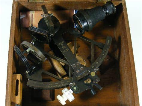 Sextant Deutsch by German Ww2 Nazi Kriegsmarine Sextant In Box 20296