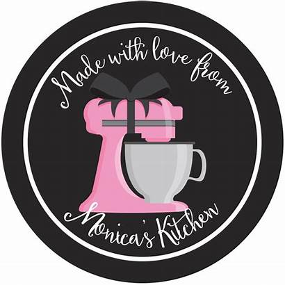 Chalkboard Label Kitchen Clipart Mixer Labels Personalized