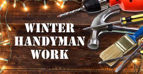 winter handyman work