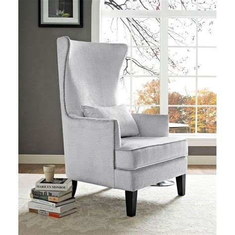 best place for high back accent chair med home