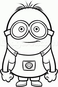 how to draw a minion from despicable me | drawing ...
