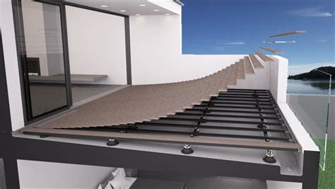 Building A Floating Deck Over A Membrane Is Simple, Fast
