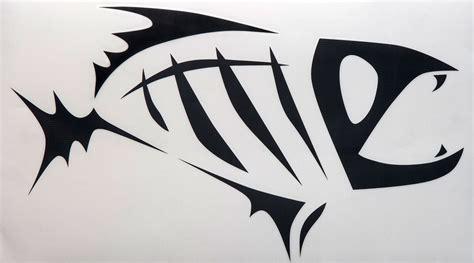G. Loomis Skeleton Fish 7