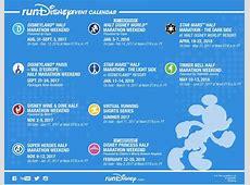 FULL runDisney 20172018 Event Calendar