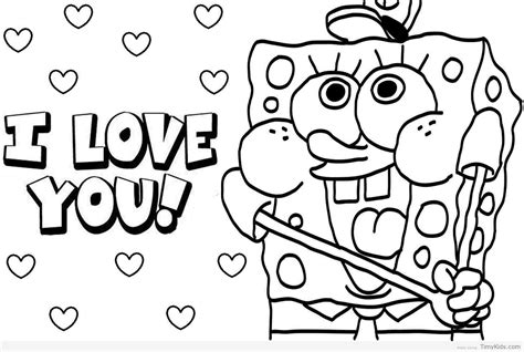 Spongebob Coloring Pages Free Printable