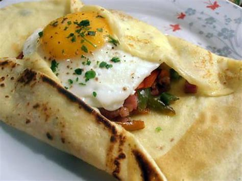 recette de cuisine provencale recette de crèpe salée à la provençale choupette