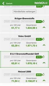 Heizöl Auf Rechnung : heiz l app heiz lpreise f r ios android heizoel24 ~ Themetempest.com Abrechnung
