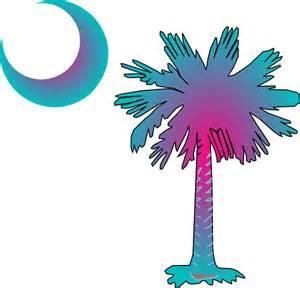 SC Palmetto Tree Clip Art