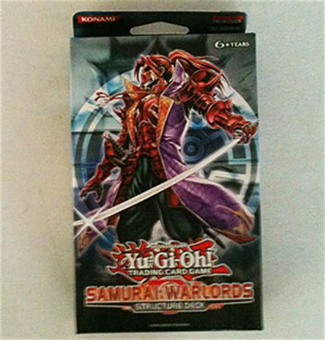 yugioh samurai warlords structure deck als sports cards