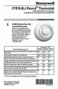 Honeywell Ct87a Central Heating Download Manual For Free
