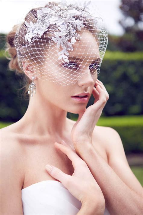 200 Best Bridal Headpieces And Veils Images By Modern