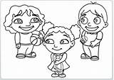 Coloring Pages Friends Children Playing Sheets Loud Furreal Colouring Printable Friend Getcolorings Template Kid Fire sketch template