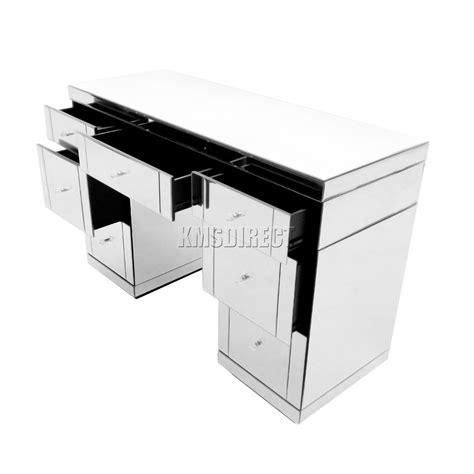 console chambre foxhunter copié meubles verre coiffeuse avec tiroir