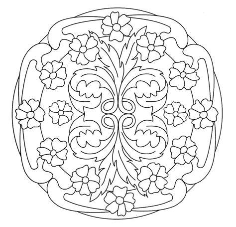 Jugendstil Kleurplaat by Nouveau Mandala Search Nouveau