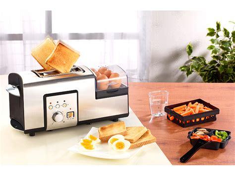 toaster und eierkocher rosenstein s 246 hne toaster mit eierkocher 3in1 edelstahl multifunktionstoaster mit eierkocher