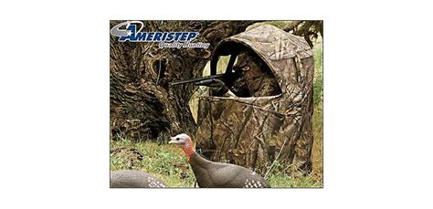 ameristep one and deluxe two chair blinds cabela s