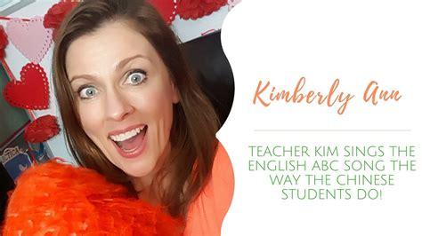 #vipkid Teacher Kim Sings The Abc Song Like They Do In